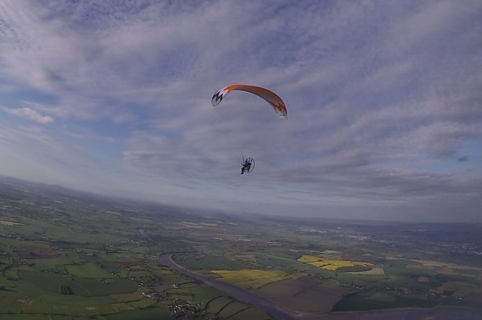 how much does paramotoring cost