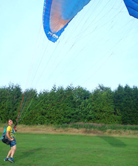 how to launch a paramotor reverse launch techniques