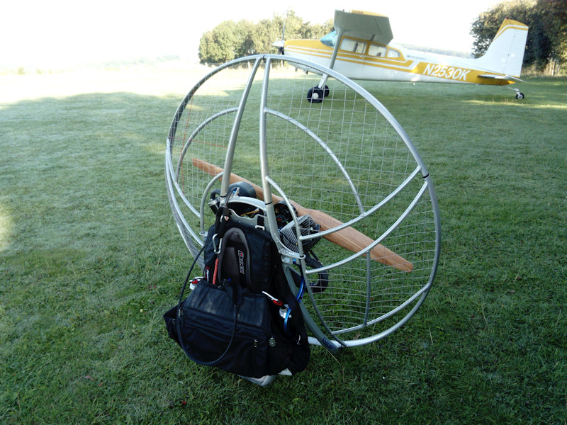 paramotor lessons theory of flight fly