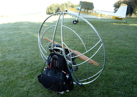 paramotor lessons theory of flight learn to fly
