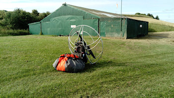 paramotor vs ultralight storing