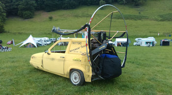 what is paramotoring like at fly-in
