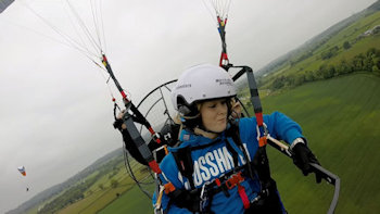 what is paramotoring like tandem flights