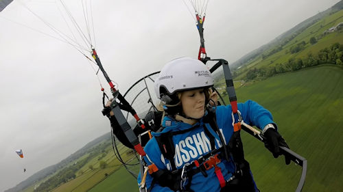 what is paramotoring like tandem