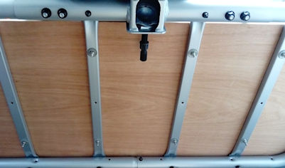 paramotor towbar mounted carry racks