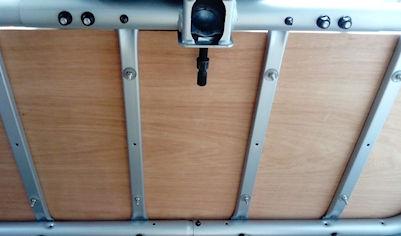 paramotor towbar mounted carry racks