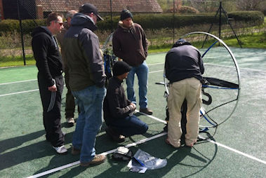 paramotor training skyschool school