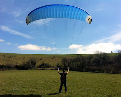 paramotor training with skyschool flight centre