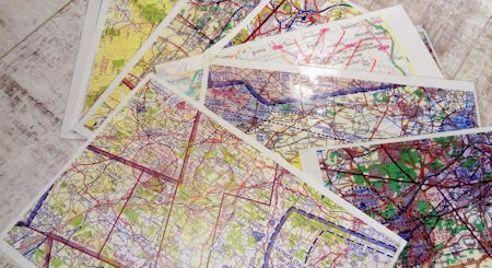 paramotor tool kit airspace map