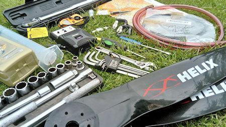 paramotor tool kit toolbox