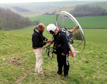 Paramotor training near me UK and US list