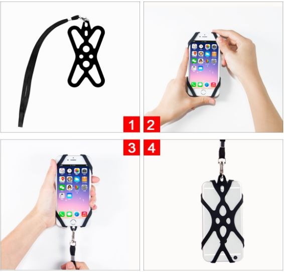 cell phone lanyard fitting