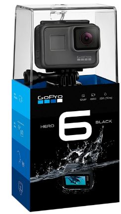 gopro hero 6 black boxed