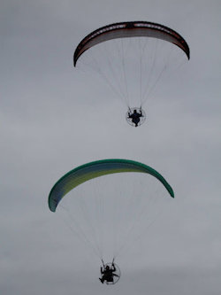 paramotor accidents mid air collisions
