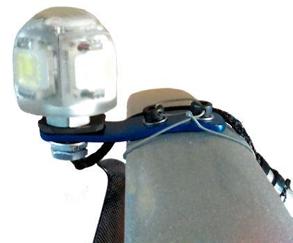 paramotor strobe light skyflar fitted