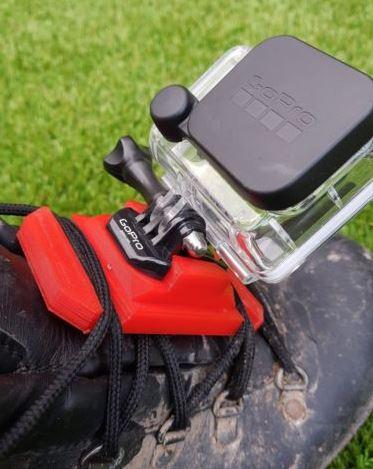 go pro foot mount