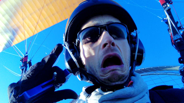 paramotor fear nerves anxiety stage fright
