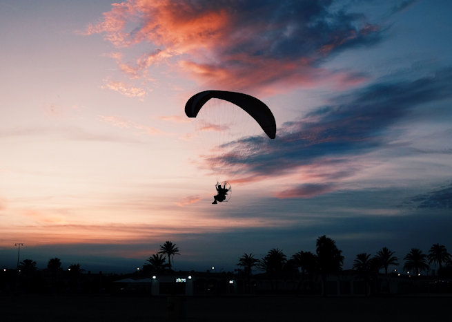 fly a paramotor on a budget