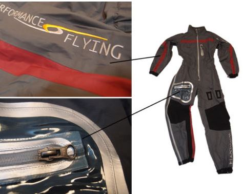 paramotor flight suit