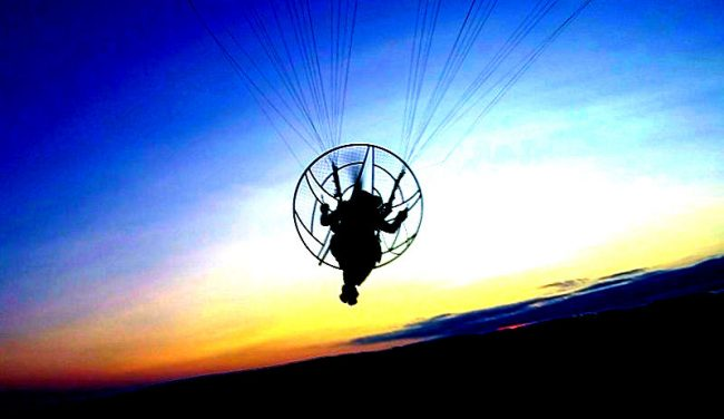 Paramotor training manual book cover main