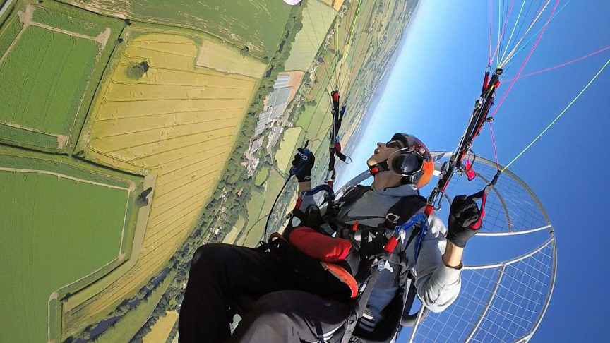 about paramotor planet and darrell