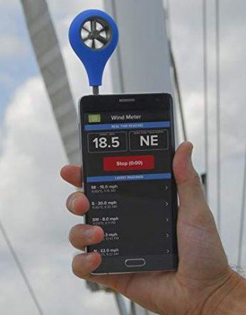 paramotor tool kit wind meter