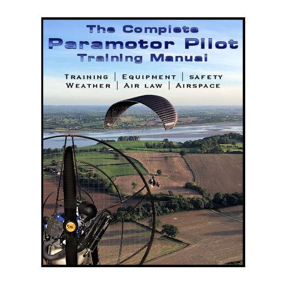 paramotor training book cover main