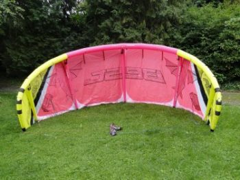 paramotor wing collapse proof