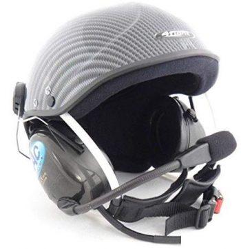 purpose built paragliding paramotor helmet
