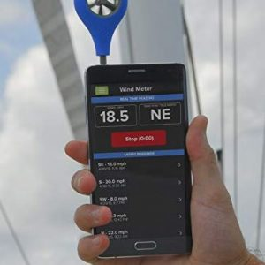 weather flow wind speed meter