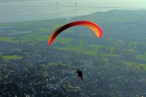 Paramotor range: What's the furthest distance you can fly on