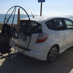 trailer hitch carrier paramotor