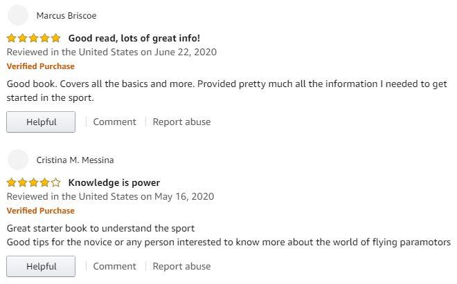 paramotor book reviews