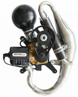 paramotor engine eos 100 booster