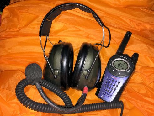 paramotor radio