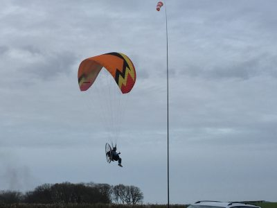 how fast can a paramotor go
