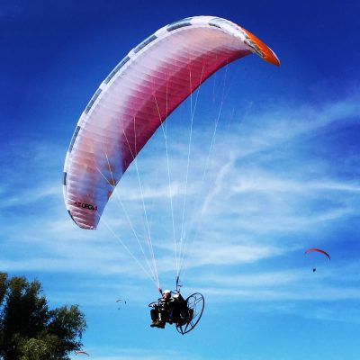 paramotor top speed