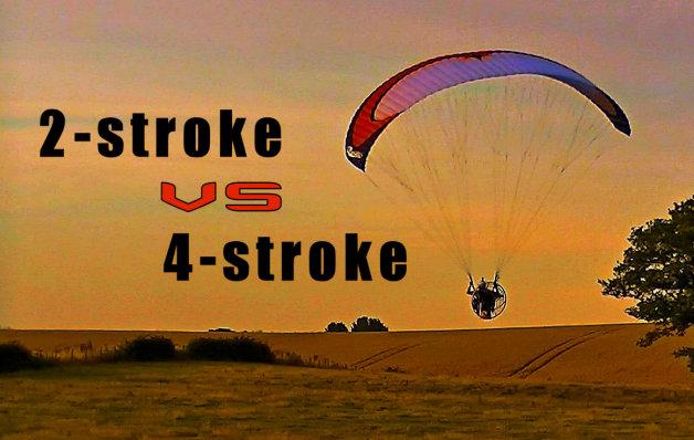 paramotor 4 stroke vs 2 stroke
