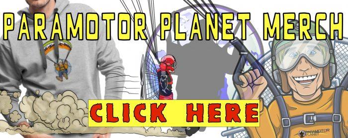 paramotor planet merchandise