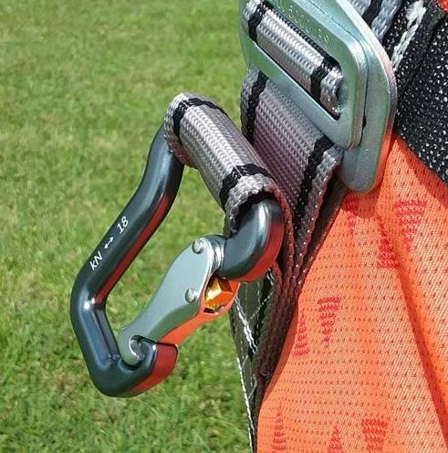 kiting harness carabiners