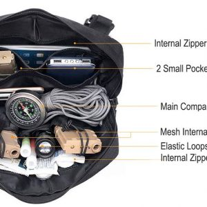 paramotor chest pouch