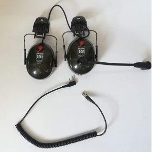 paramotor headset