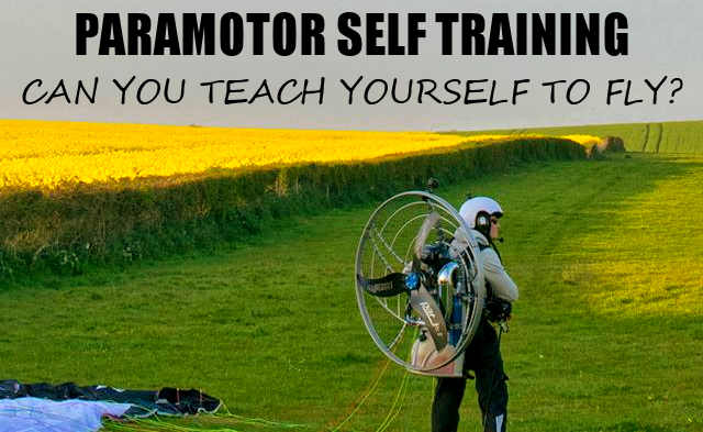 Can you teach yourself to paramotor