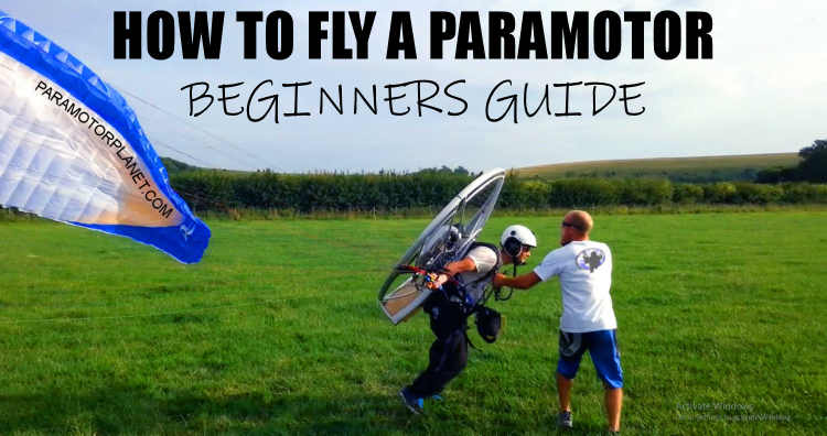 How to fly a paramotor