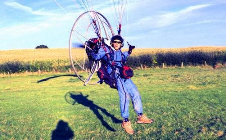 paramotor flight suit accessory