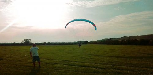 paramotor self trained