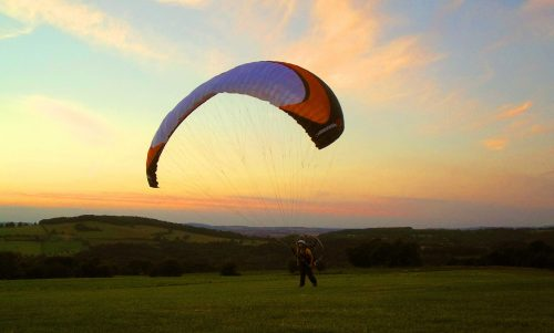 teach yourself to paramotor